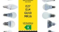 LED-Leuchtmittel Informationen Die ideale Lichtquelle ist klein, erzeugt das Licht effizient und hat eine lange Lebensdauer. Keine Glüh- oder Entladungslampe kann diese drei Eigenschaften vereinen, lediglich die Licht emittierende Diode […]