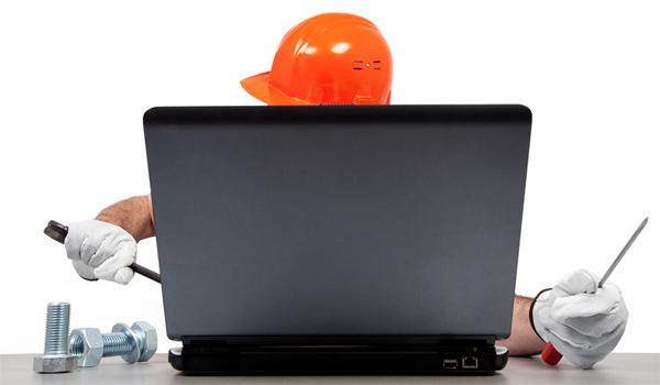wir reparieren PC´s, Drucker, und Notebooks